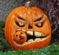20 Cool Ways to Decorate Your Halloween Pumpkins - The ART in LIFE