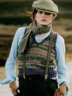 VEST:  Rowan Free Knitting Patterns (Men & Women) - Rowan Yarns RYC UK / pattern:  Fyne