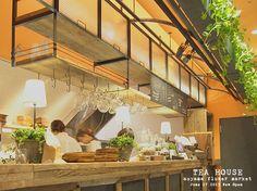 TEA HOUSE aoyama flower market 吉祥寺 : Favorite place