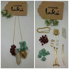 Asi empezamos a dar forma a una nueva colección.... ¿Os gusta?... www.lakuweb.com