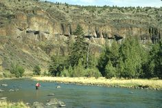 Lower Crooked River. Oregon.