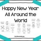 These are some b&w bookmarks (to make them easily copiable) of kids from around the world and how you would say Happy New Year in their languag...