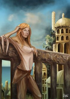 Wheel of Time's Aviendha by Gingybeer on DeviantArt