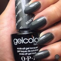 Buy on Amazon // Brand: OPI Gel Color // Color: Nein! Nein! Nein Ok Fine!