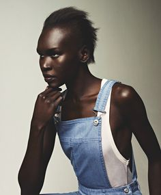 Giving thanks to Alek Wek: The importance of a supermodel.