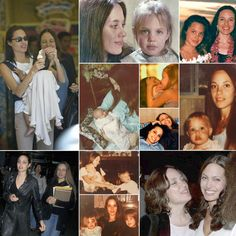 Angelina Jolie with her mother, Marcheline Bertrand, through the years