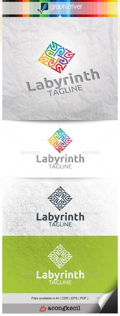 Labyrinth V.5 — Vector EPS #game #company • Available here → https://graphicriver.net/item/labyrinth-v5-/10303034?ref=pxcr