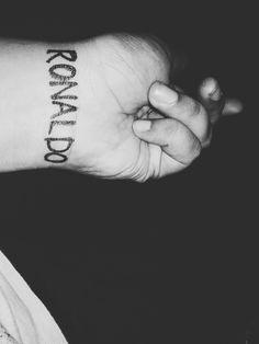 I am Ronaldo fan.... Ronaldo tattoo ❤