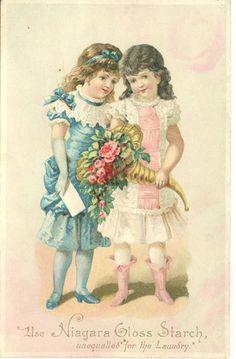 vintage images, rose, vintag postcard, vintag children, vintage sisters, girl vintag, vintage girls, vintag imag, friend
