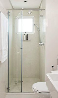 Box camarão para banheiros pequenos