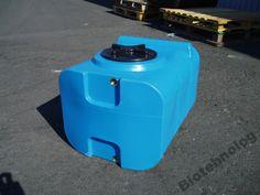 Бак, емкость 100 л прямоугольная для воды, топлива
