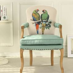 Find Cheap Designer Furniture Now Cheap Designer, Accent Chairs, Armchair, Furniture Design, Shabby Chic, Design Inspiration, Parrots, Light Blue, Animal