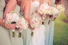 Southern wedding mint colored bridesmaid dresses#richardbellphotography #lowndesgrovewedding #southcarolinawedding