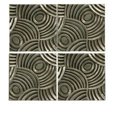 4 Wall Tiles by Gordon Companies, Inc. $165.00. This product may be prohibited inbound shipment to your destination.. Please refer to SKU# ATR25778248 when you inquire.. Picture may wrongfully represent. Please read title and description thoroughly.. Shipping Weight: 9.00 lbs. Brand Name: Gordon Companies, Inc Mfg#: 30722351. 4 wall tiles/concentric circle pattern/each tile 12''H x 12''W/made of polyurethane/you get 1 of each style shown
