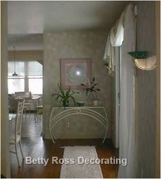 Dining Room Re-Design Faux Painting