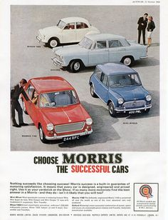 MorrisCollection by Jonathan Rowley Photography, via Flickr Classic Cars British, Classic Mini, British Car, Retro Cars, Vintage Cars, Vintage Ideas, Morris Oxford, Ranger, Car Brochure