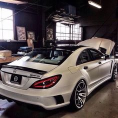 What do you think of this #AMG #CLS63? #Mercedes #luxurycars #CarGoals #Cars