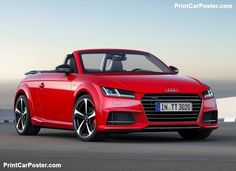 Audi TT Roadster S line competition 2017 poster, #poster, #mousepad