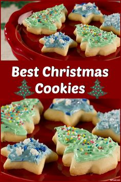 the recipe for these christmas cookies came to us from a viewer in wisconsin who says