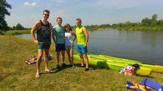 Splyw z Górek do Białobrzegów