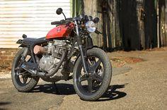 """Australian Cafe Racers - Blog - 1981 CB250N – """"CherryBomb"""""""