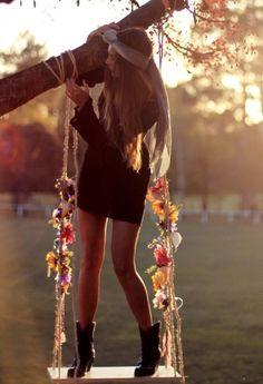sunflower swing <3