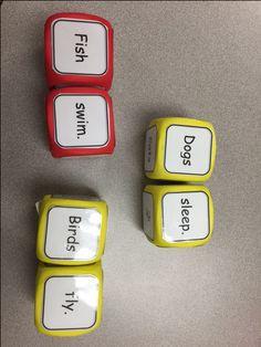 Writing BAREBONE sentences - Educator Station Writing Ideas, Writing Activities, Parts Of A Sentence, Sleeping Dogs, Sight Words, Sentences, School Stuff, School Ideas, Teaching