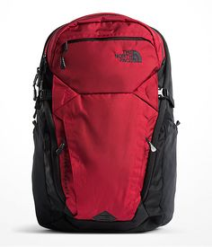 The North Face Router Transit Pattern Grey and Red Linings