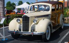 1940 Packard 110 Station Wagon