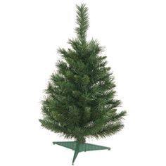 <div>This 2.5' Imperial Pine artificial Christmas tree features a mixture of light green two-ton...