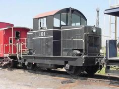 EMD division of General Motors Model 40 diesel locomotive. Built in 1940. 300hp engines....