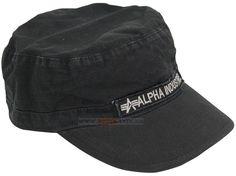 Кепка Army Hat Alpha Industries (чорна) Наявність: під замовлення  Ціна: 20 $