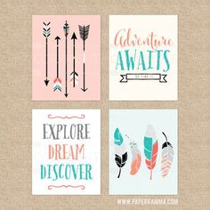 Best Arrow And Feather Wall Art Products on Wanelo