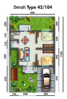 Rumah Tipe 45 Modern - Rumah Minimalis