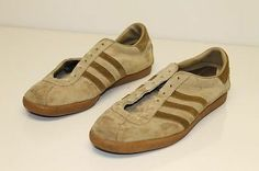 Adidas Riviera Vintage RARE France Made Mens 10.5 Suede Sneakers Shoes )