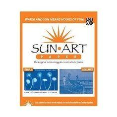 "Tedco 8"" X 10"" Sun Art Paper Kit - 15 sheets for $10.00"