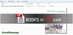 Lehninger Principles of Biochemistry 5th Edition PDF Free Download