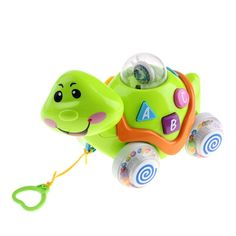 Electric Mini Green Turtle Toy For Kids