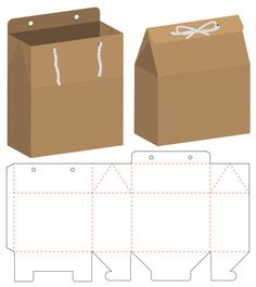 Box packaging die cut template design – Design is art Paper Crafts Origami, Origami Box, Diy Paper, Diy Gift Box Template, Paper Box Template, Box Templates, Paper Packaging, Box Packaging, Packaging Design