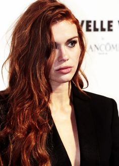 Holland Roden attends the Nouvelle Vague By Lancome party in Paris