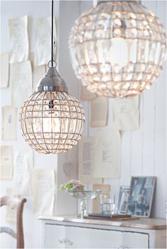Gorgeous pendant lights