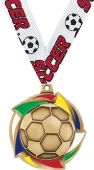 Universe #Soccer #Medal Award is Great to Give to Soccer Teams and Players! http://www.crownawards.com/StoreFront/CM57SORG.ALL.Medals-Dogtags.2%22_Universe_Soccer_Medal.prod