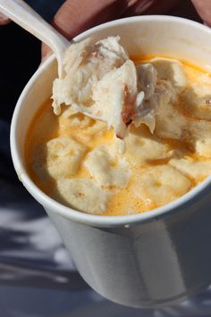Delicious Crab Bisque...memorable way to start your holiday dinner.