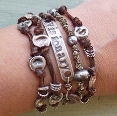 Visionary Bracelet/Necklace Wrap by ninabagley on Etsy