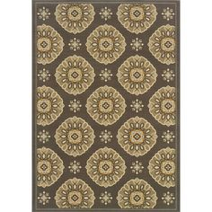 @Overstock - This beautiful area rug will help your outdoor spaces feel more like home in on trend shades of grey, gold, blue, beige and brown. This durable polypropylene rug will endure the elements and continue to look great for many years.http://www.overstock.com/Home-Garden/Outdoor-Indoor-Grey-Gold-Area-Rug/7521427/product.html?CID=214117 $36.99