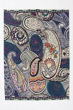 Shanti Paisley Rug - Anthropologie.com
