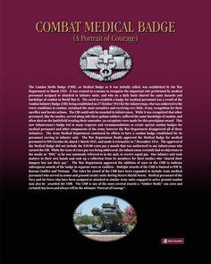 Combat Medic Badge - A Portrait of Courage