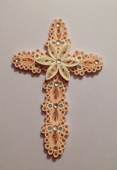 Paper Quilled Cross