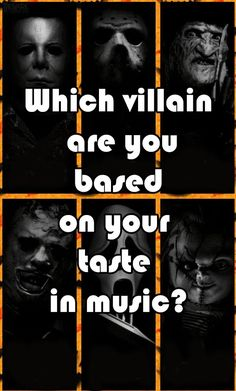 Which villain are you based on your taste in music?