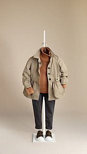 Skirted Trench Coat